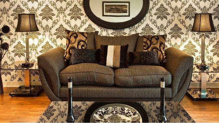 Spacious living area in Oakhill Apartments Edinburgh