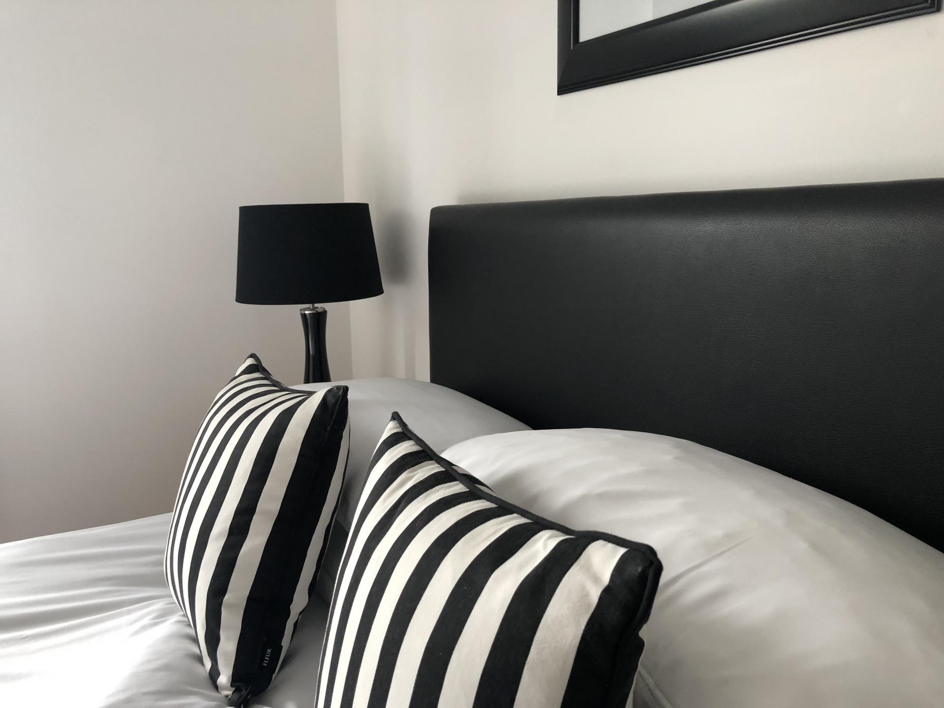 Bedspread at Oakhill Apartments Edinburgh
