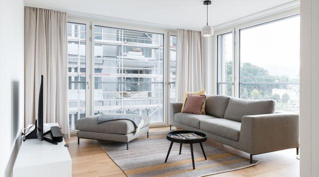 Living room at Matteo Apartments