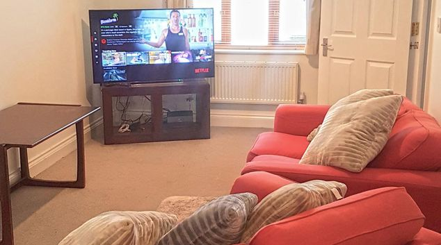 Living room at London Road House