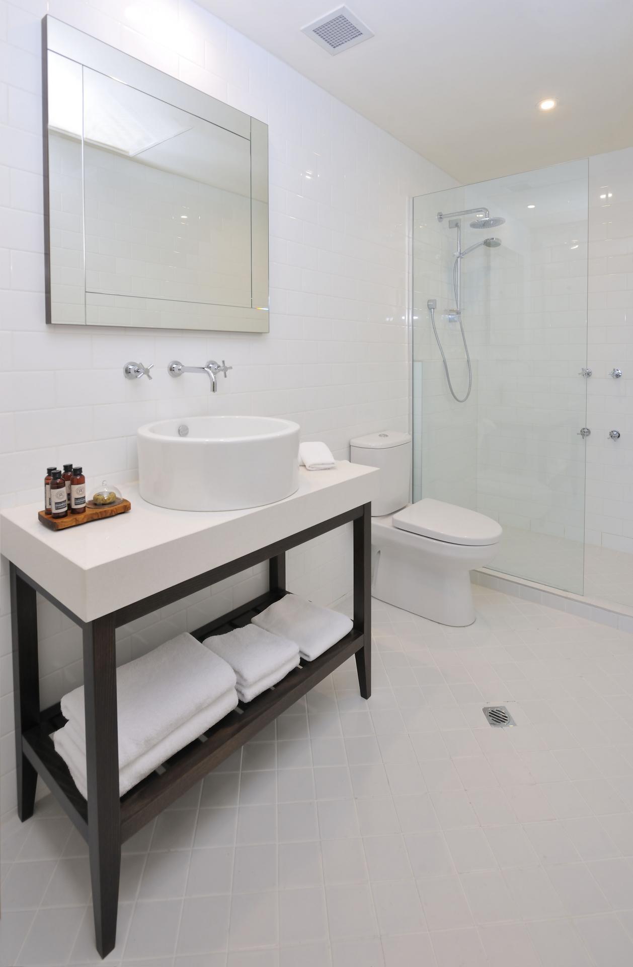 Bathroom at Quest Grand Hotel Apartments