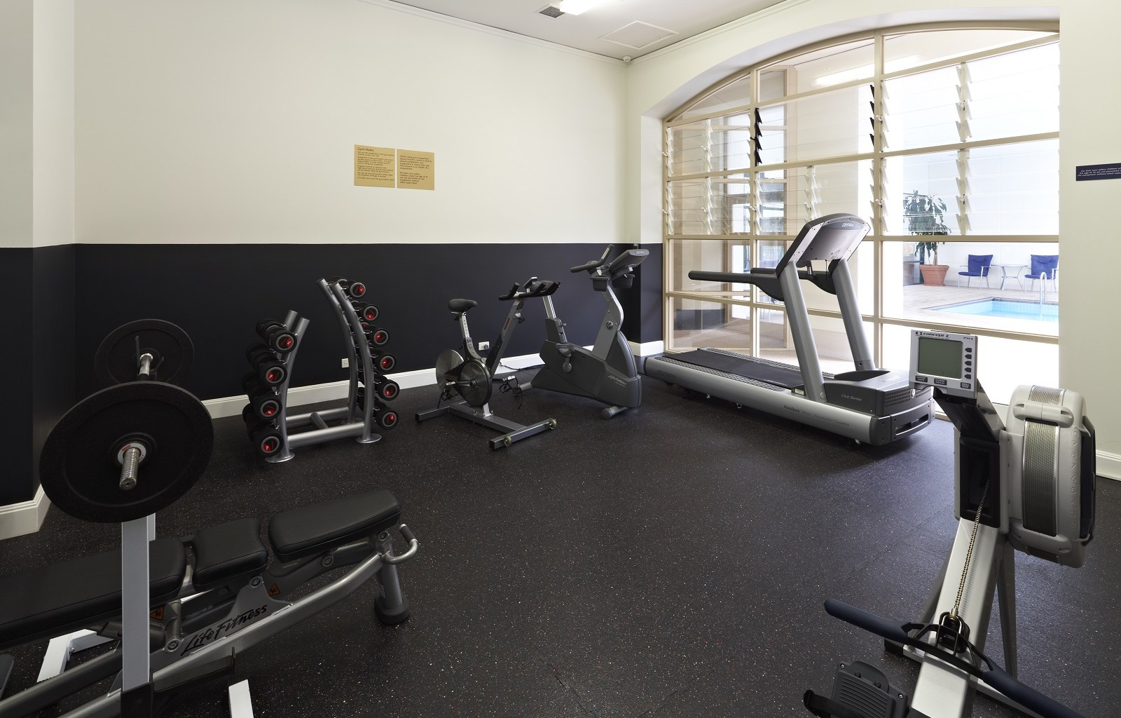 Gym at Quest Grand Hotel Apartments