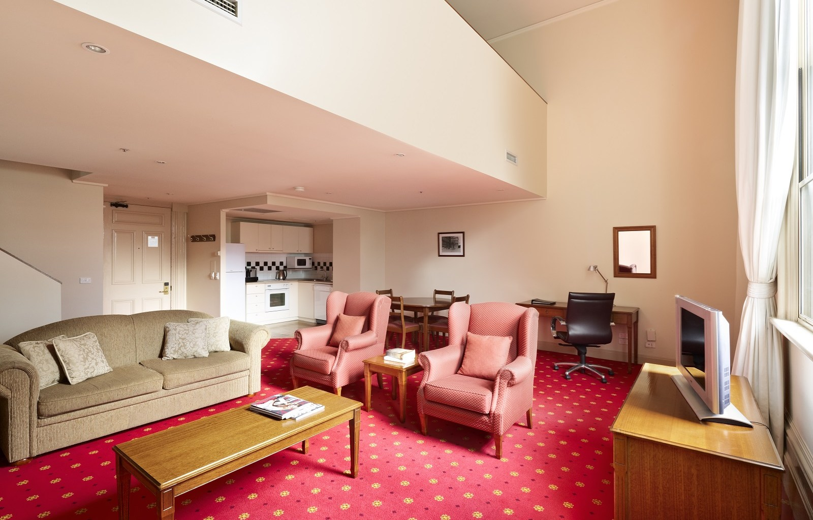 Lounge at Quest Grand Hotel Apartments