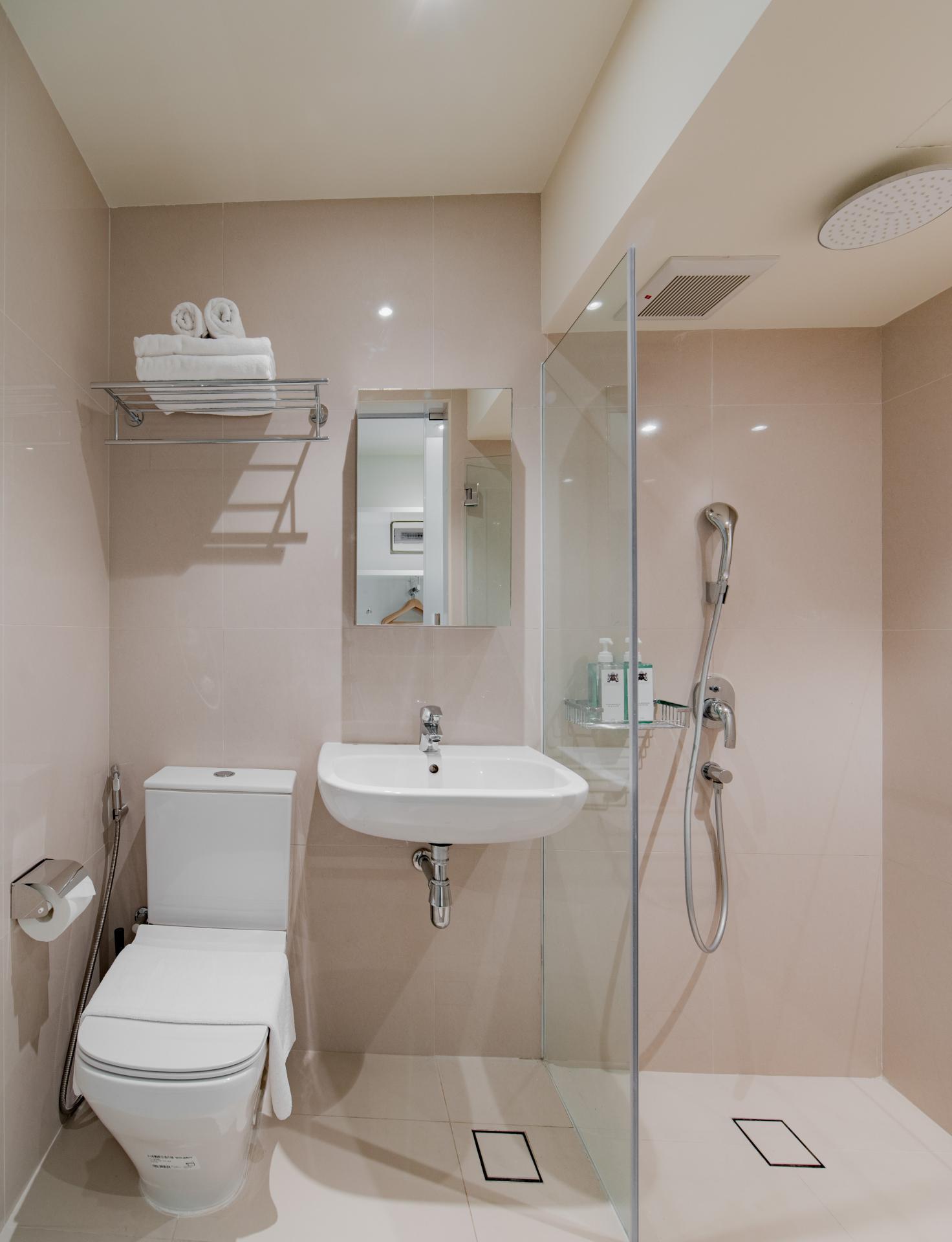 Bathroom at Smith Street Apartments, Singapore