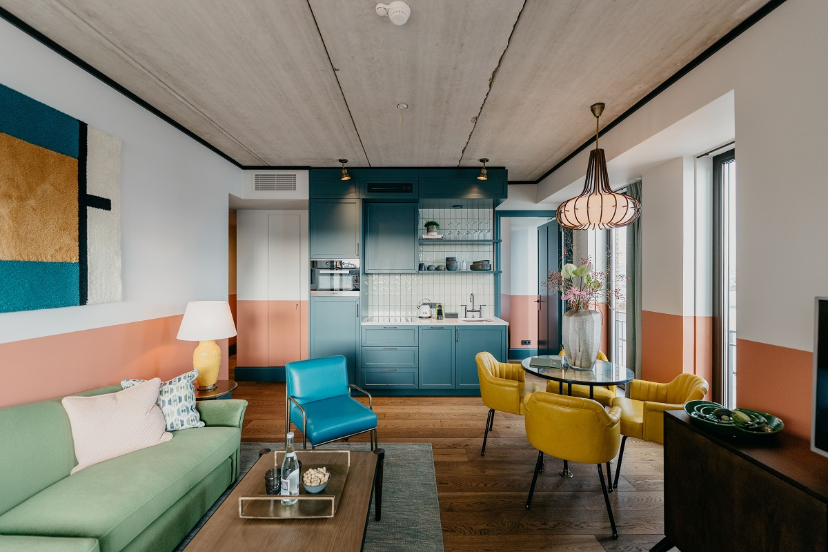 Open-plan at Boat & Co Apartments, Houthavens, Amsterdam