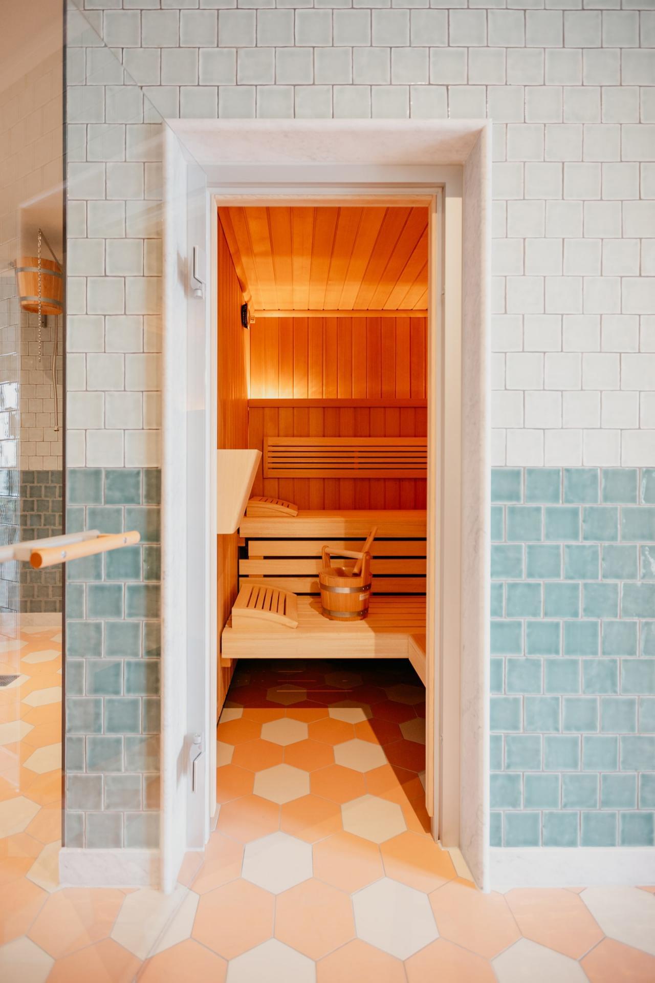 Sauna at Boat & Co Apartments, Houthavens, Amsterdam