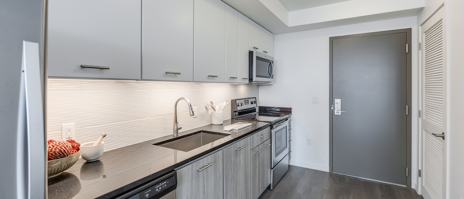 Kitchen at Country Club Towers