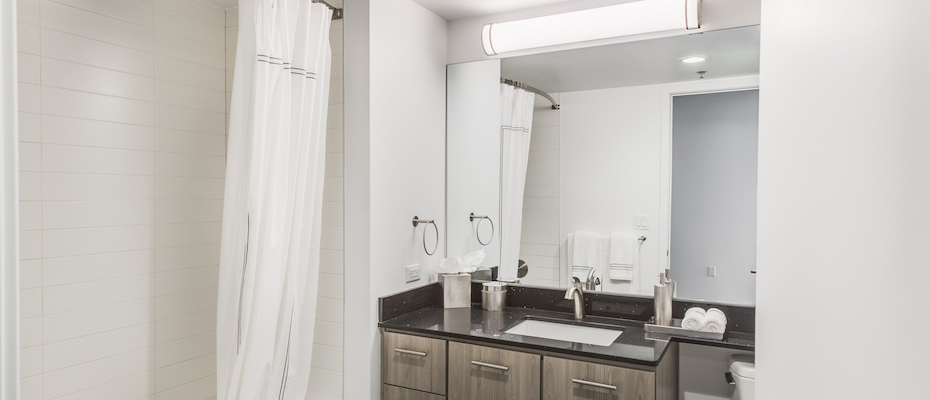 Bathroom at Country Club Towers