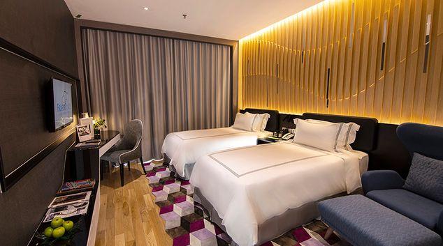 Bedroom at Fraser Place Puteri Harbour, Nusajaya, Johor