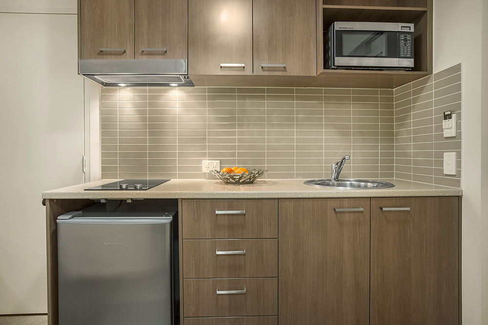 Kitchen at Quest Parap Apartments