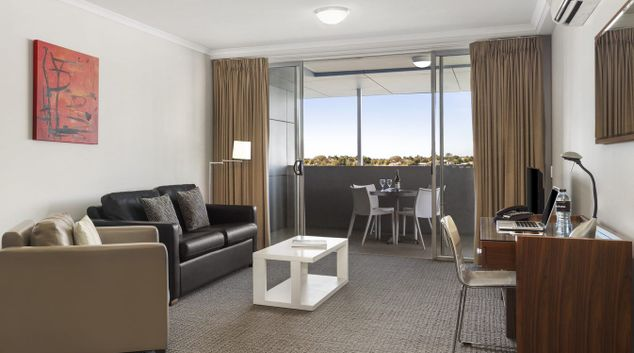 Living Area at Quest Chermside