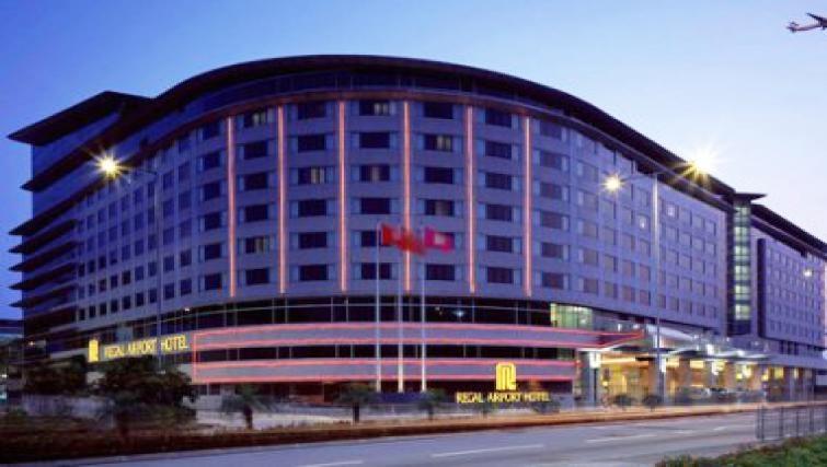 Grand exterior of Regal Airport Hotel