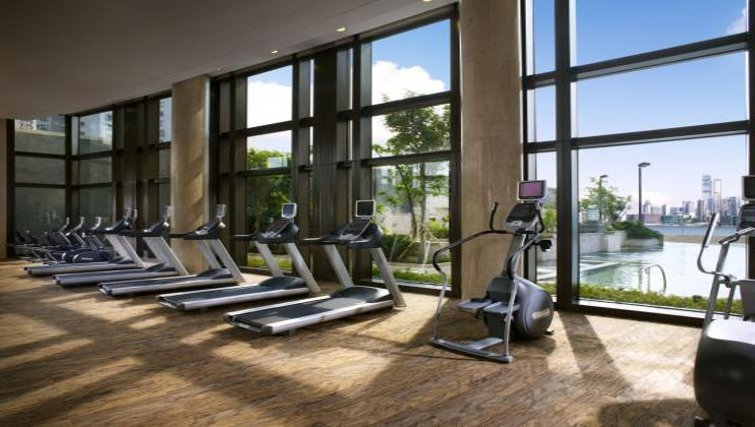 Gym at Fortress Hill Apartments