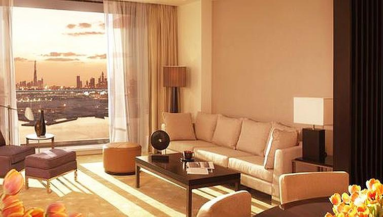 Impeccable living areaInterContinental Residence Suites Dubai F.C.