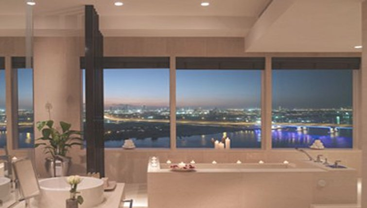 Amazing bathroomInterContinental Residence Suites Dubai F.C.