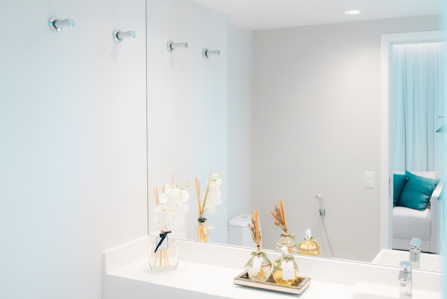 Bathroom at V House Boutique Residences