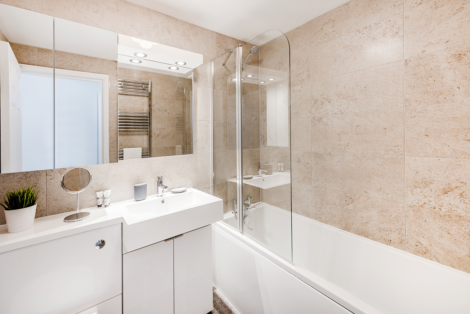 Bathroom at BE: Opera House Apartment