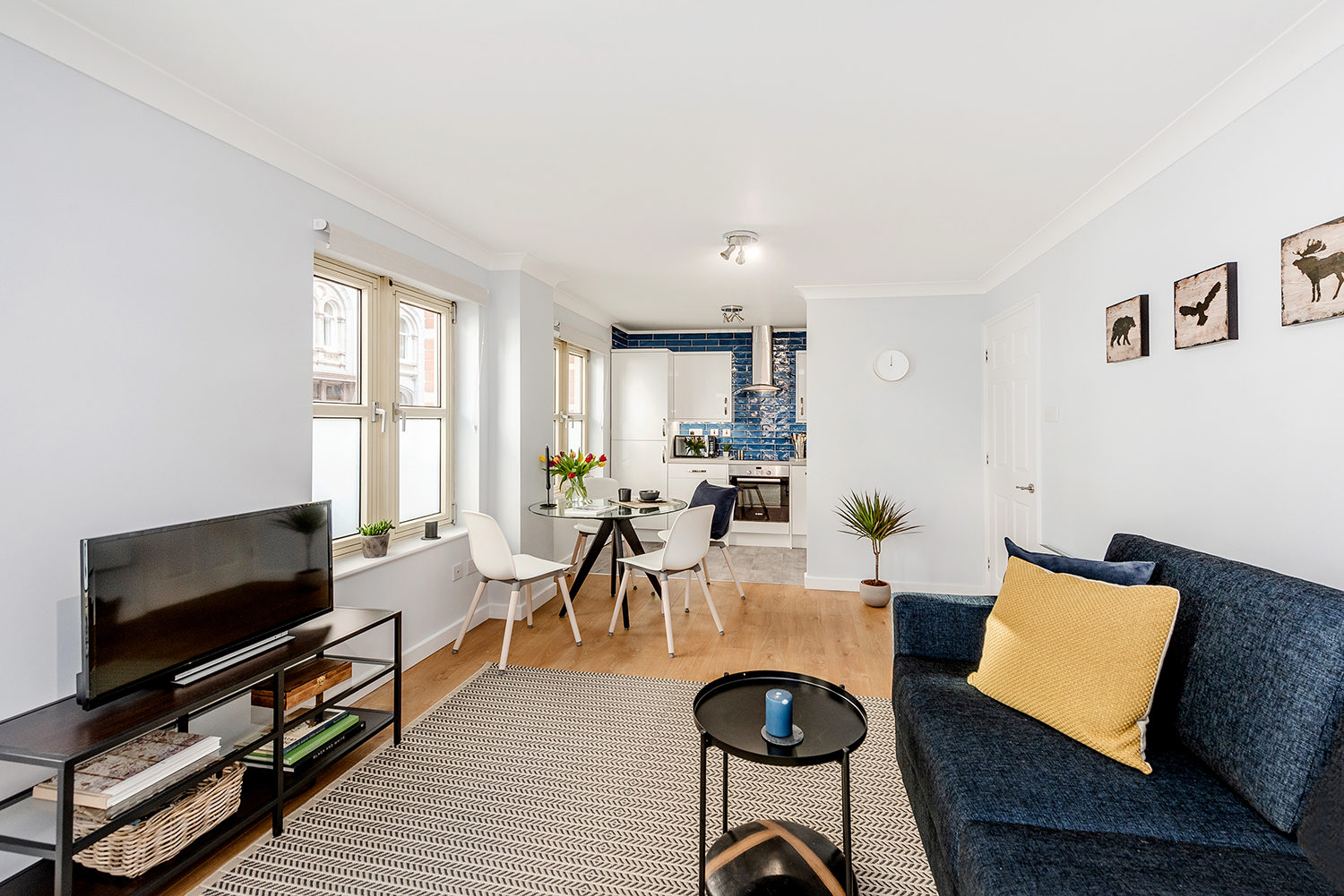 Lounge at BE: Opera House Apartment