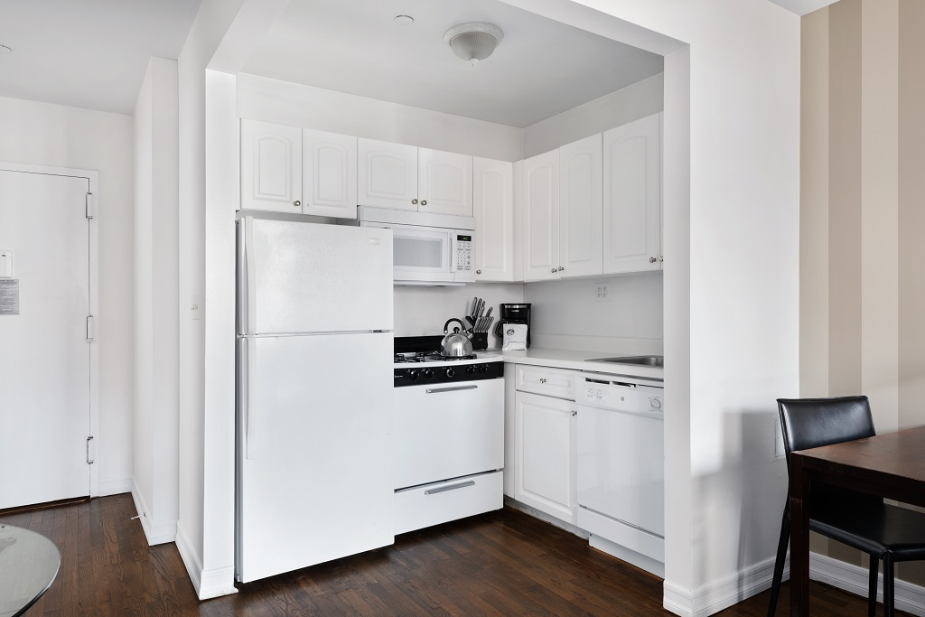 Kitchen at 427 East 82nd Street Apartments, Upper East Side, New York