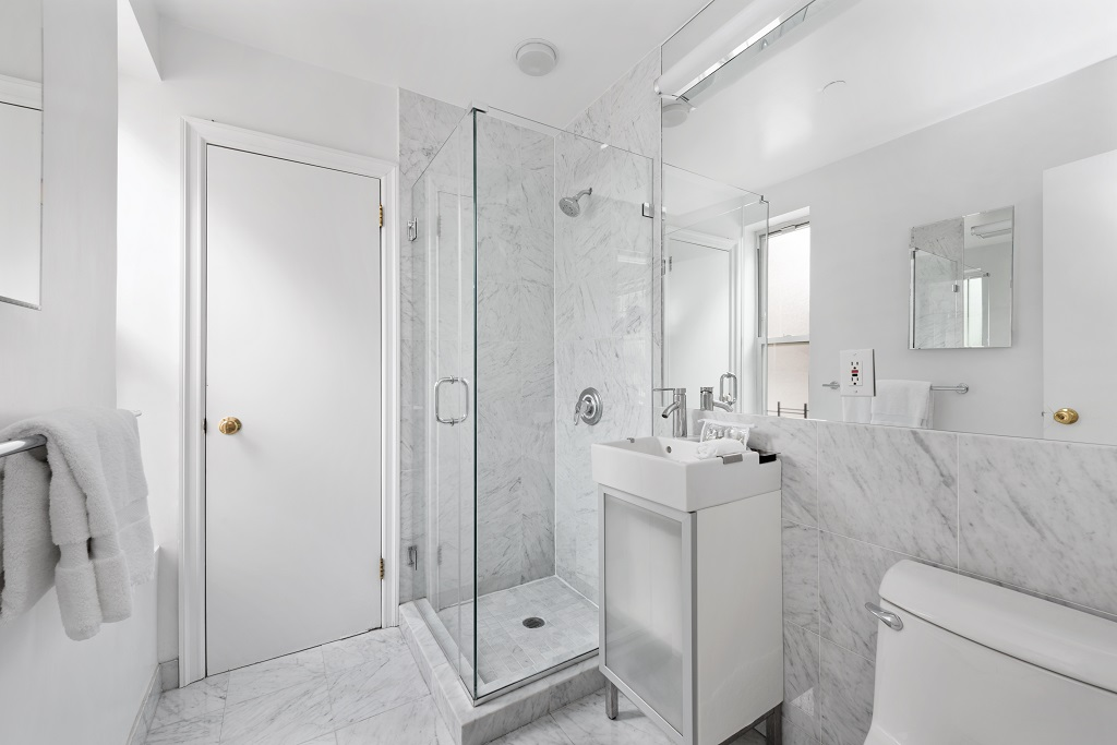 Bathroom at 427 East 82nd Street Apartments, Upper East Side, New York