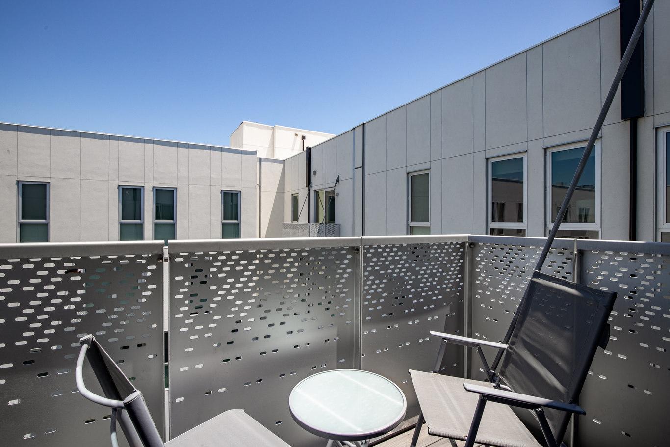 Balcony at Brannan Street Apartments