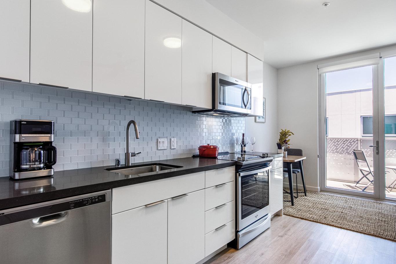 Kitchen at Brannan Street Apartments