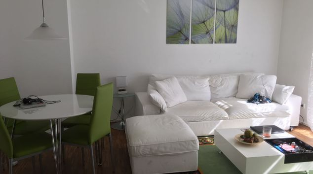 Living area at Stollberg Apartment, Centre, Munich