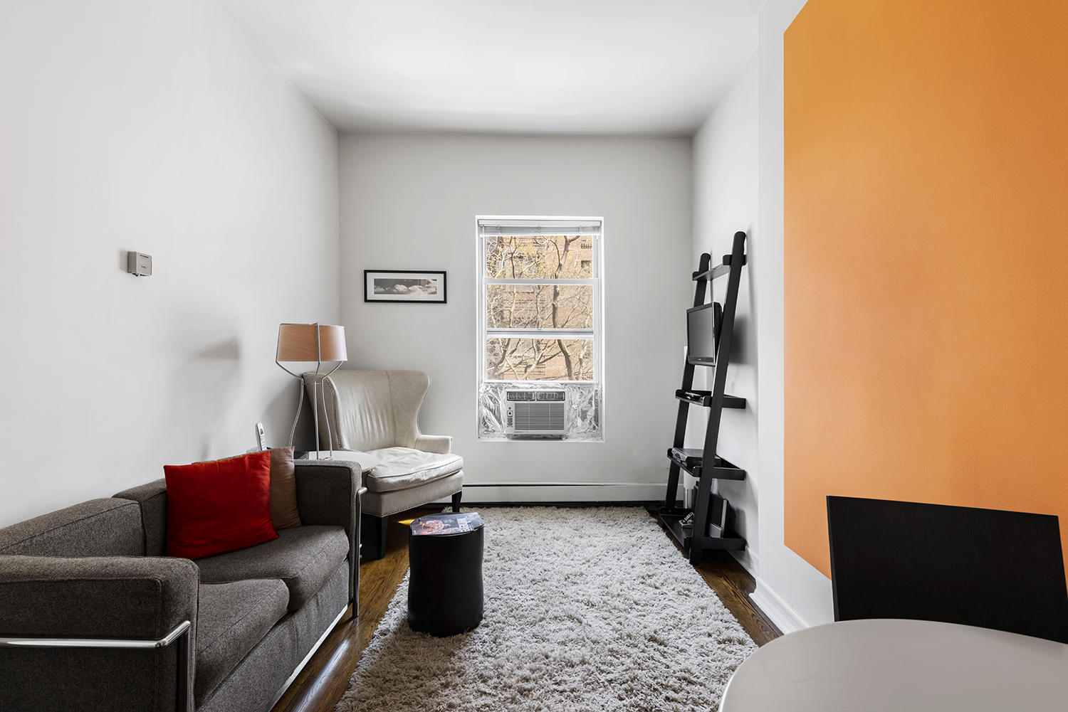 Living room at 244-250 East 74th Street Apartments
