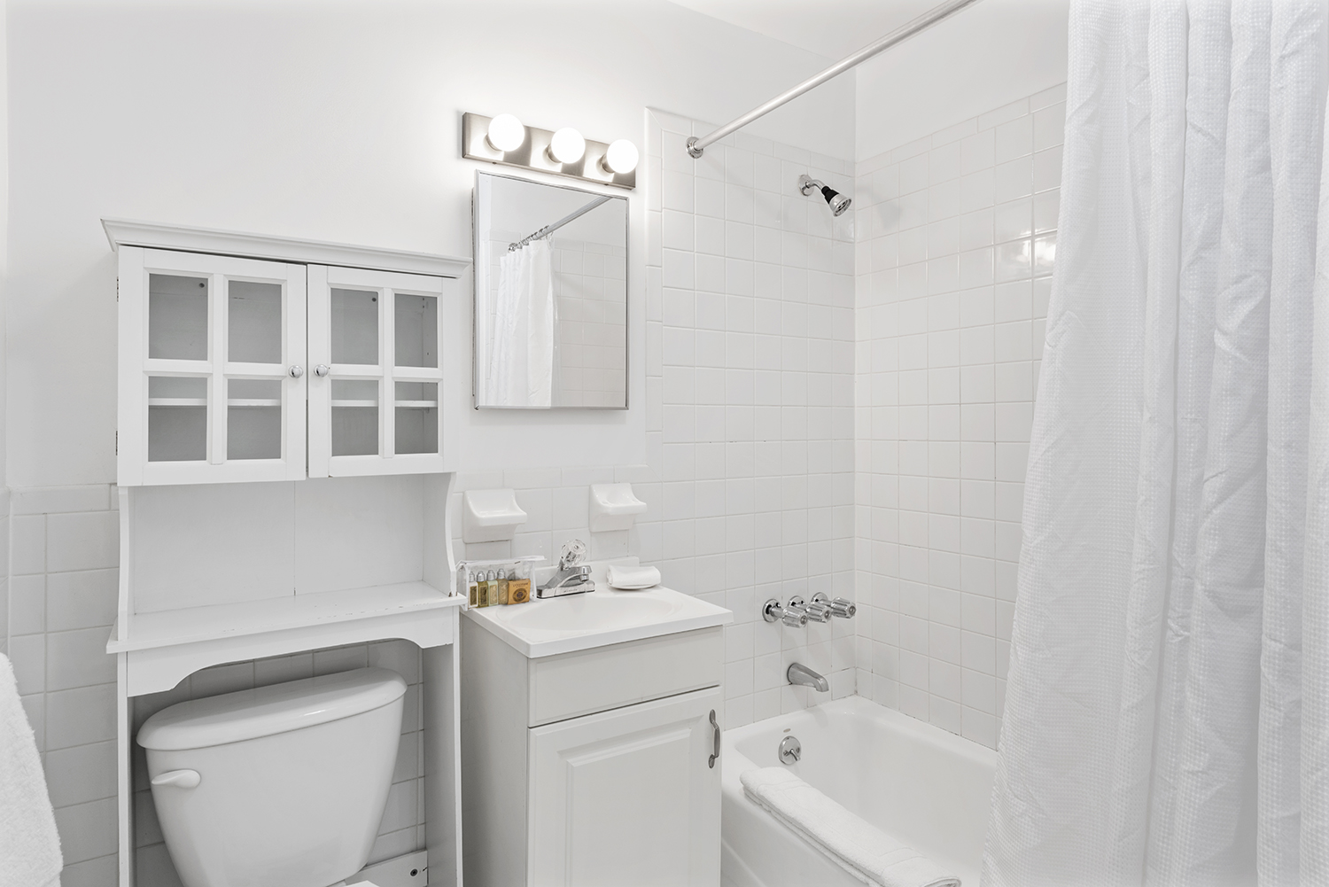 Bathroom at East 74th Street Apartments