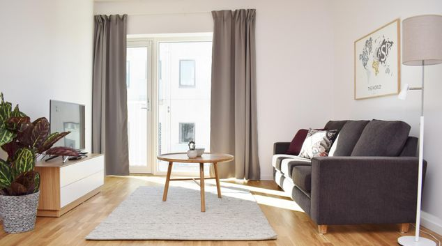 Living area at Fregat Apartment