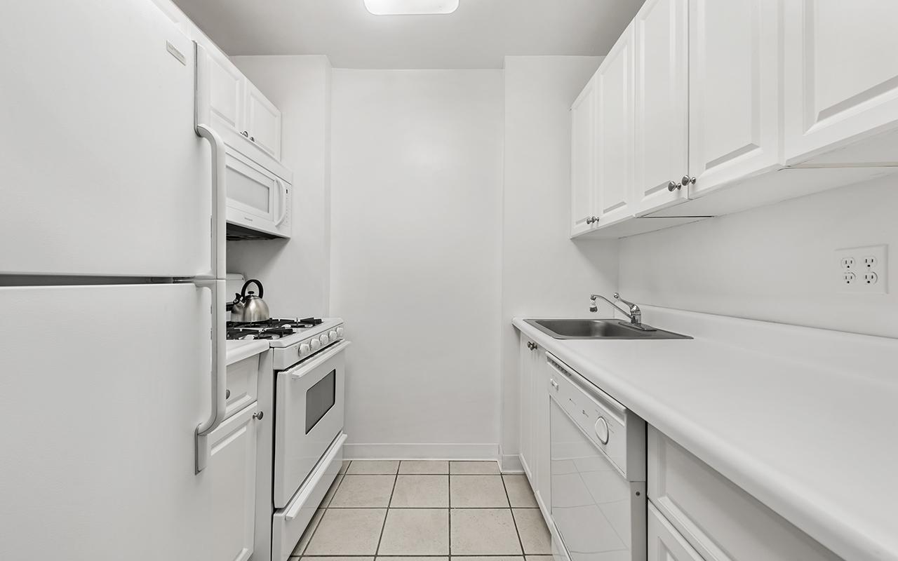 Kitchen at 316 East 63rd Street Apartments, Manhattan, New York