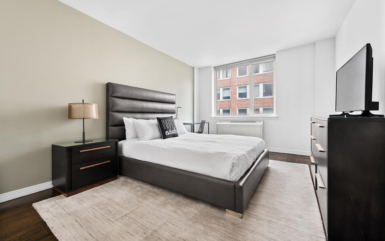 Light bedroom at 316 East 63rd Street Apartments, Manhattan, New York