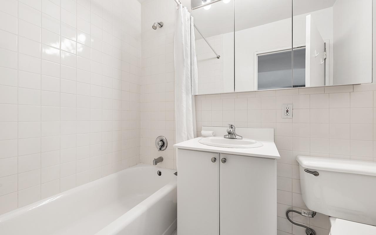 Bathroom at 316 East 63rd Street Apartments, Manhattan, New York