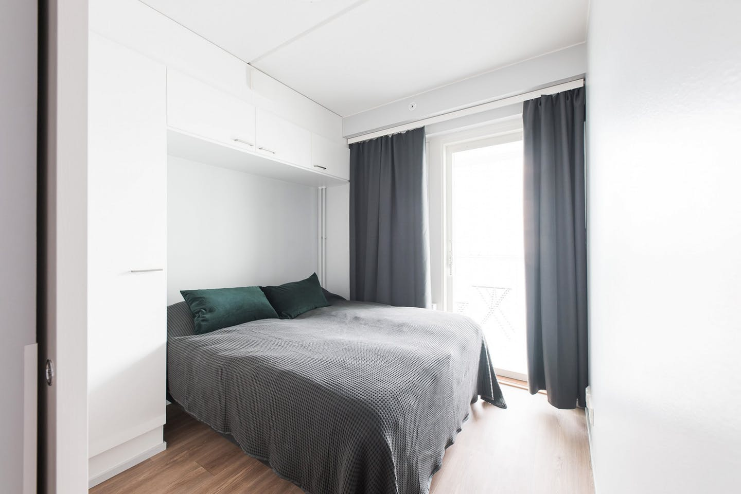 Bedroom at Neilikkatie Apartments