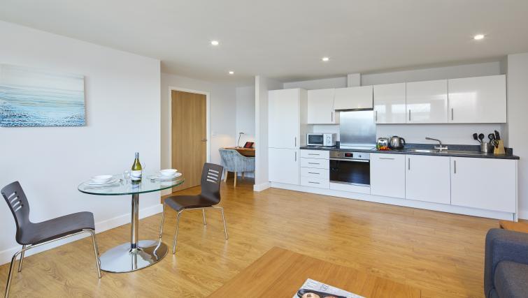Dining room at the Aparthotel Farnborough