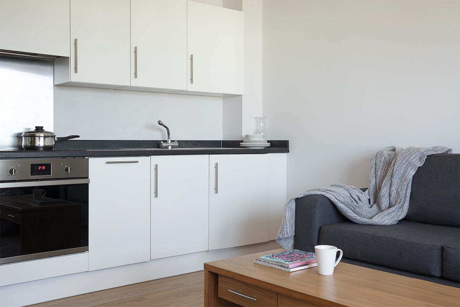 Lounge area at Aparthotel Farnborough
