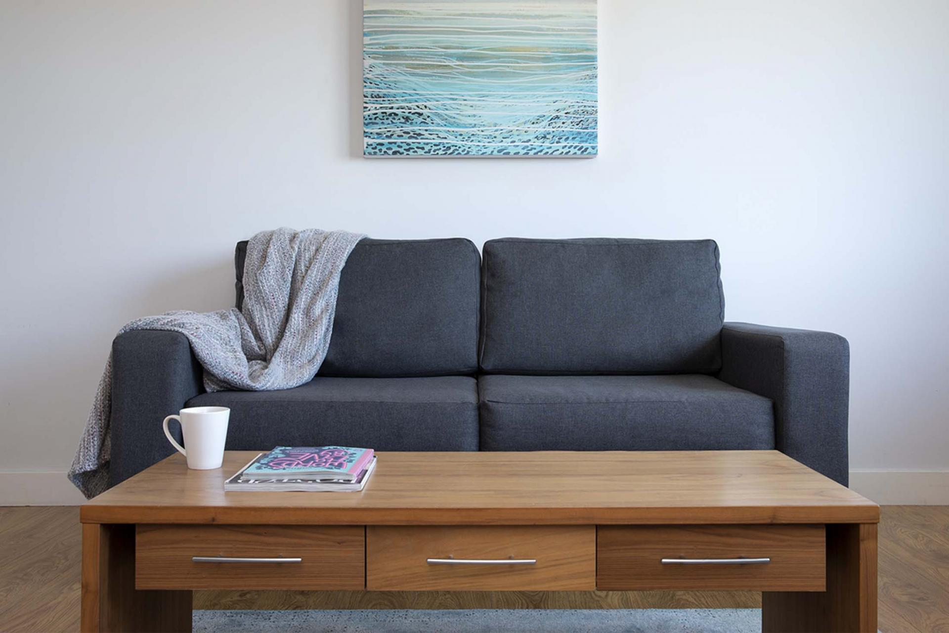 Coffee table at Aparthotel Farnborough