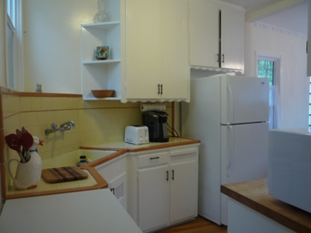 Fully equipped kitchen at Noe Valley Home, Noe Valley, San Francisco