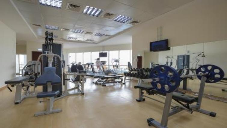 Gym at Vision Downtown Apartments
