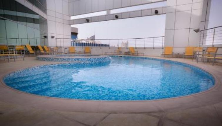 Pool at Vision Downtown Apartments