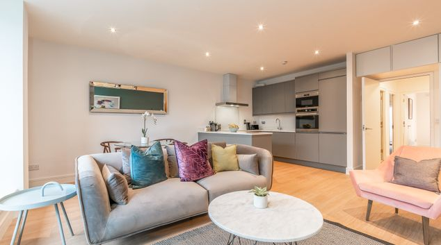 Overview at Baggot Court Apartments