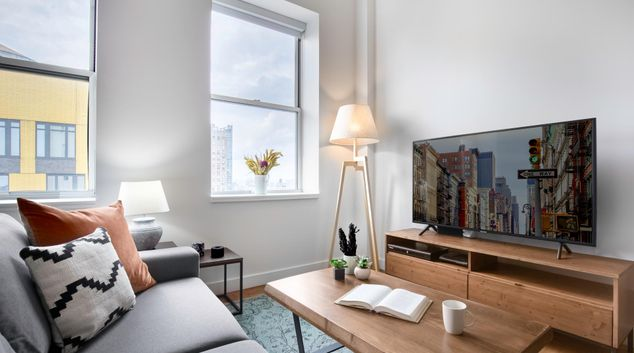 Lounge at Twenty Exchange Apartments