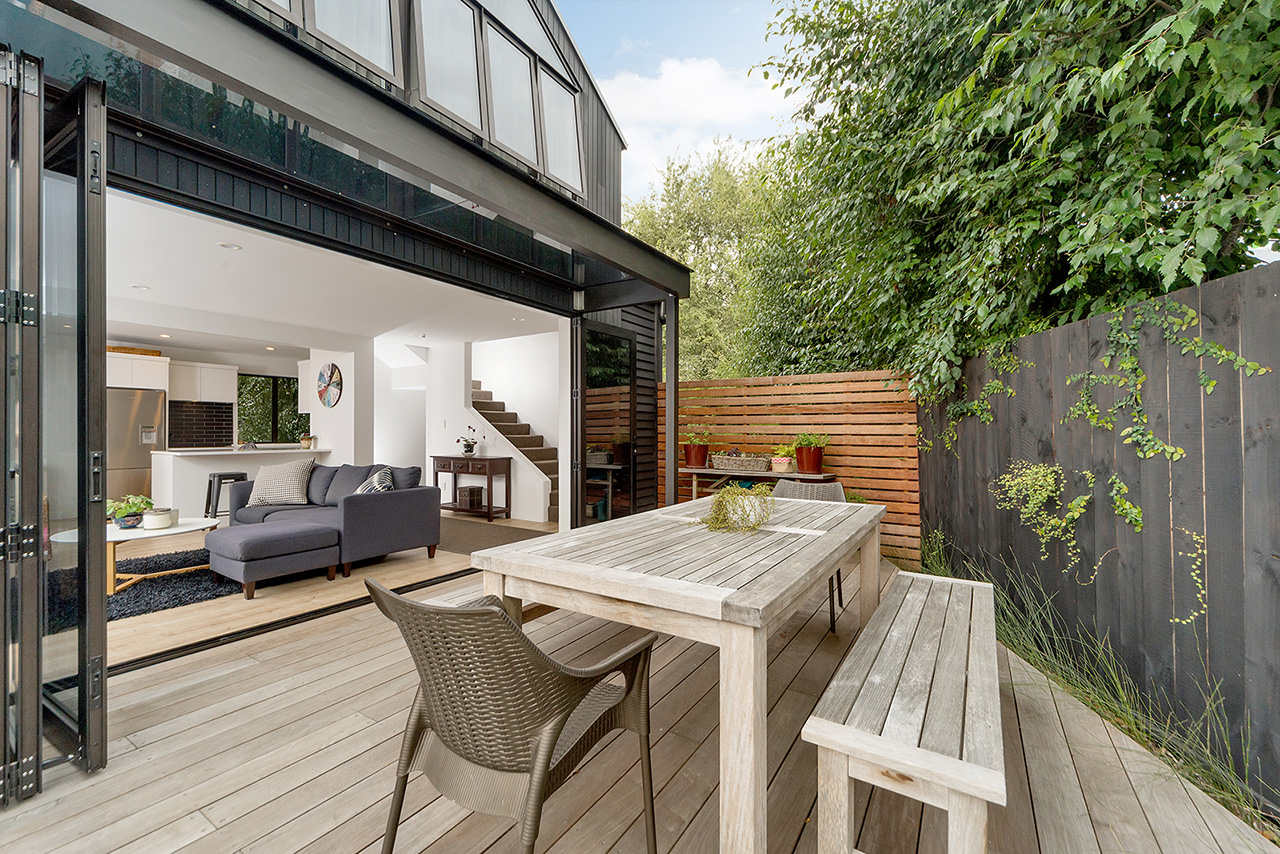 Terrace at Wood Street Townhouse, St Marys Bay, Auckland