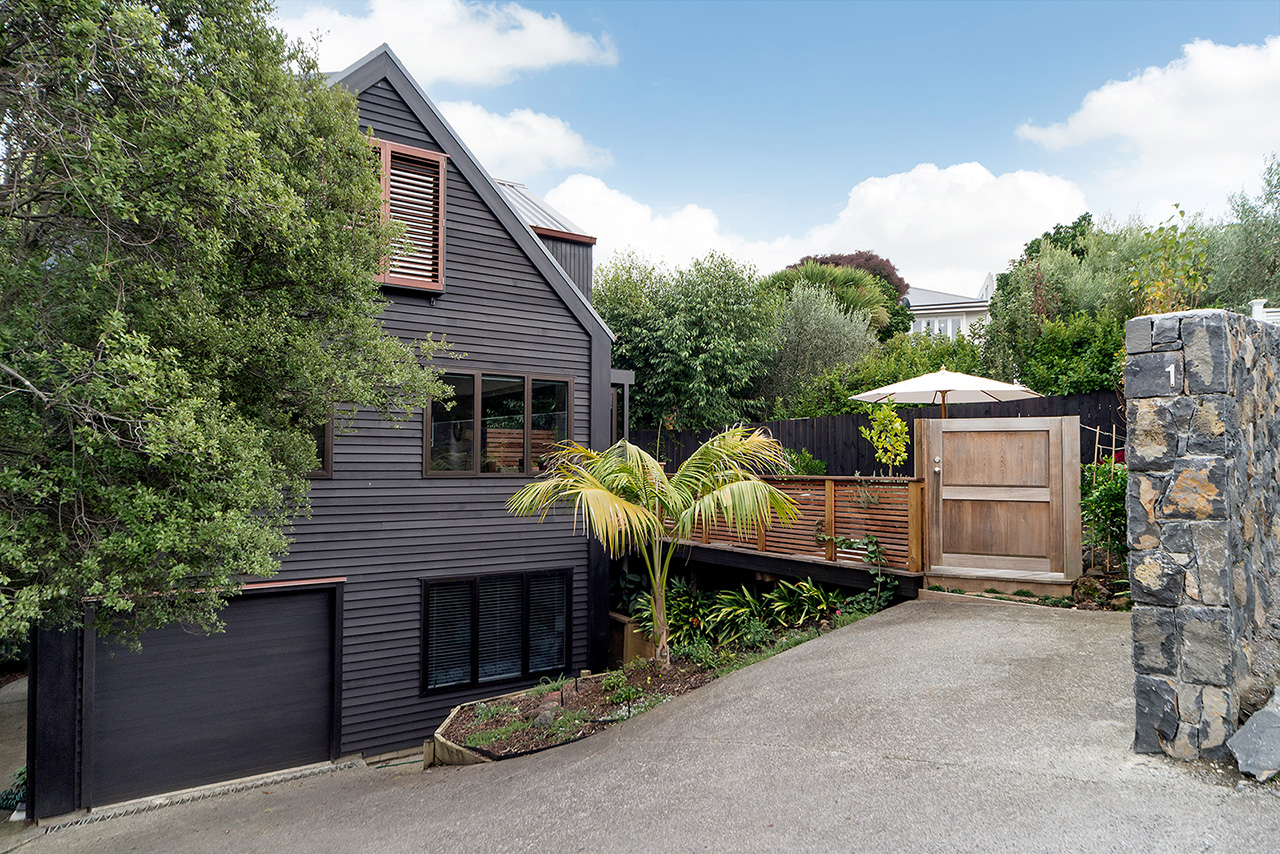 View at Wood Street Townhouse, St Marys Bay, Auckland