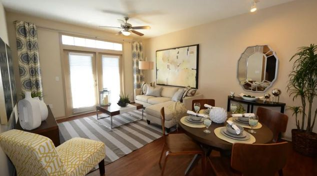 Living room at Terraces at Town Center