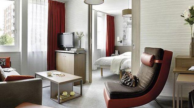 Contemporary living area in Adagio Basel City