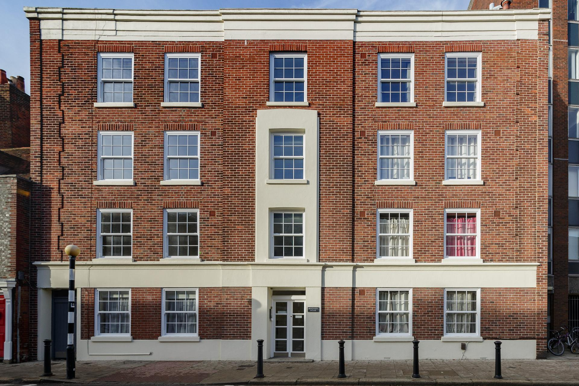 Exterior of Braganza House Apartments, Old Portsmouth, Portsmouth