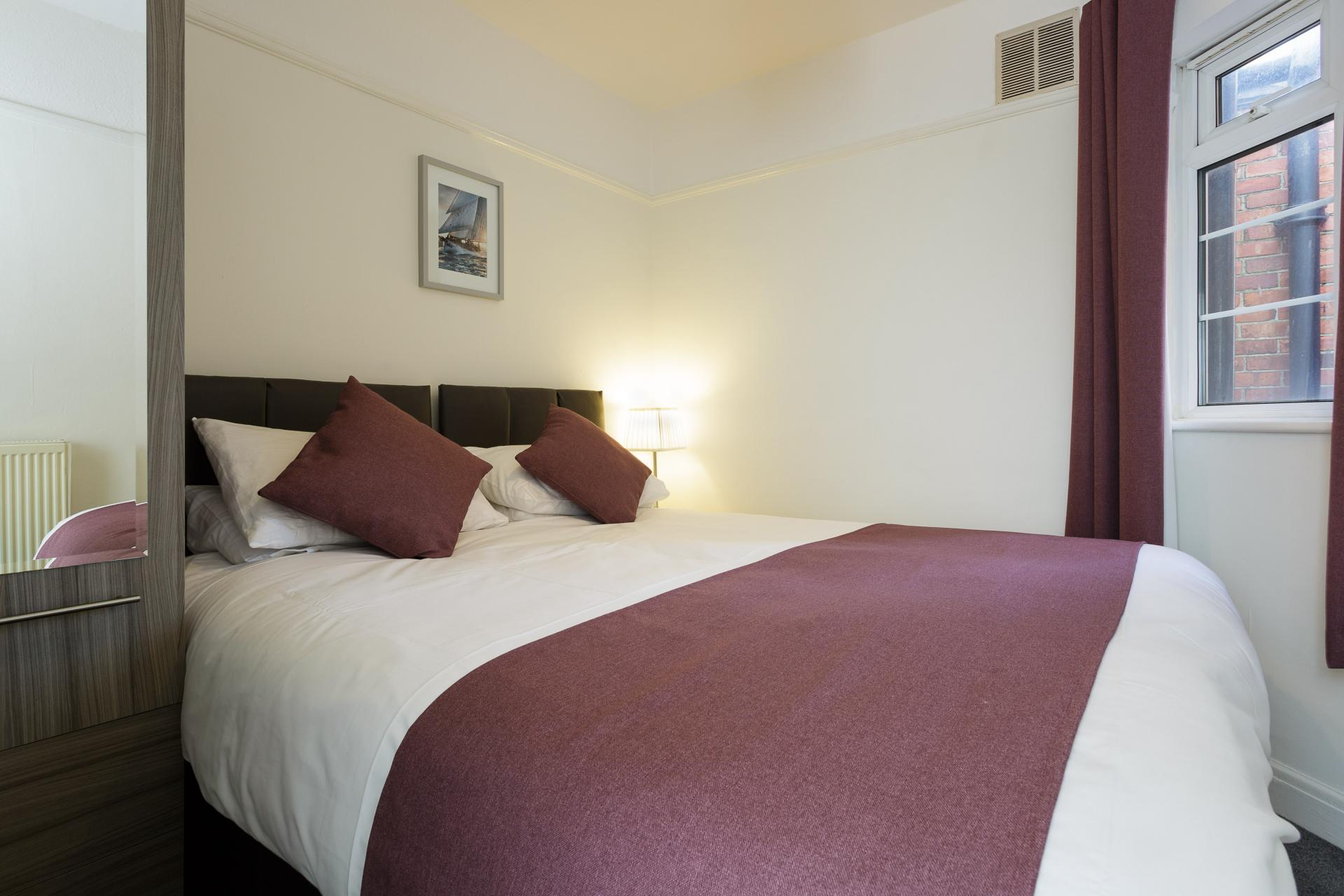 Bedroom at Braganza House Apartments, Old Portsmouth, Portsmouth