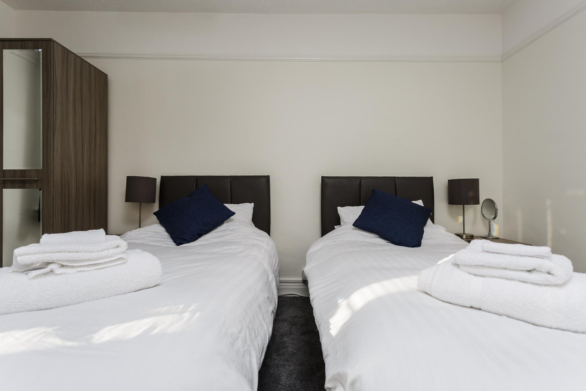 Beds at Braganza House Apartments, Old Portsmouth, Portsmouth