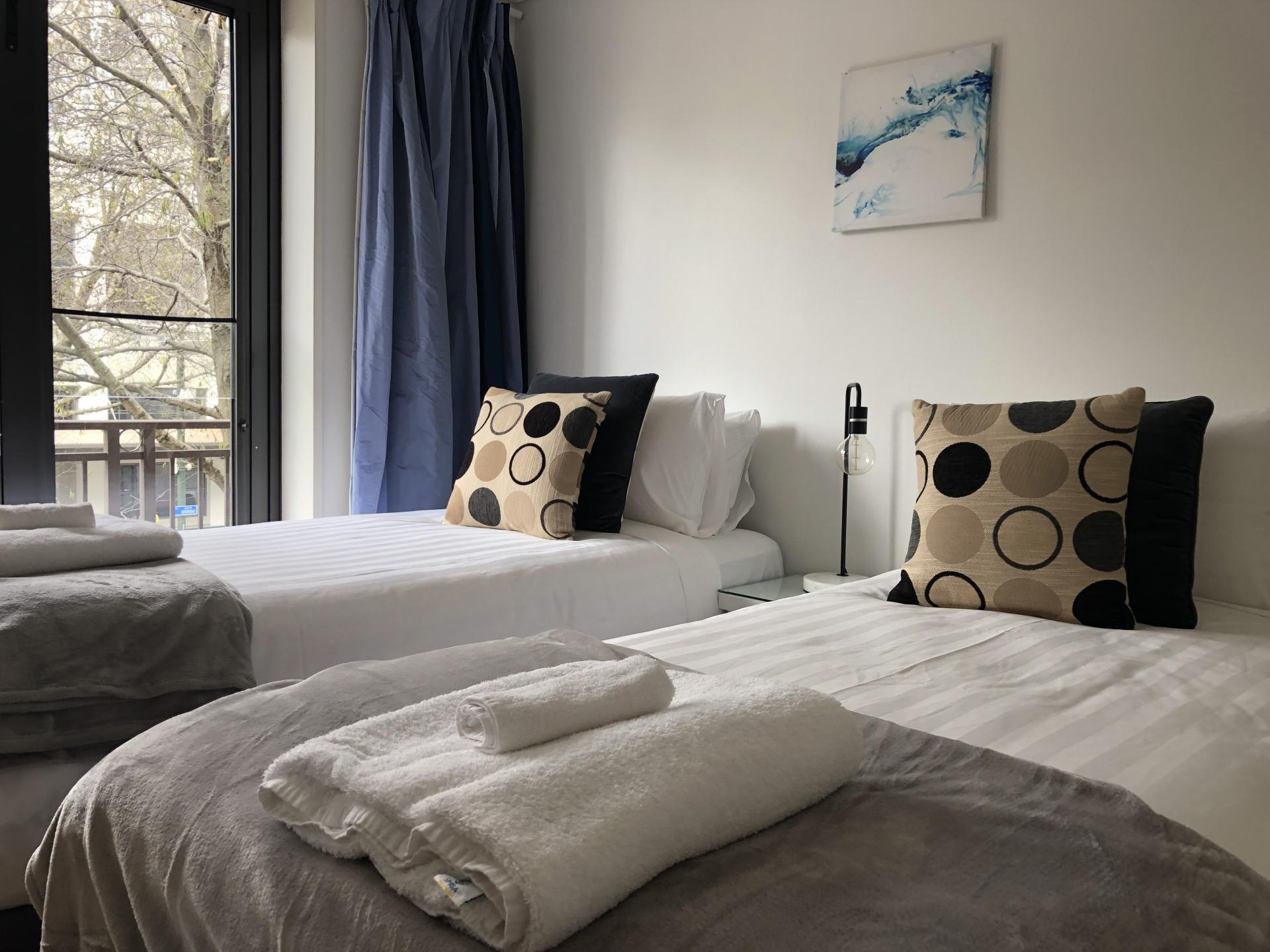 Beds at The Parc Apartment